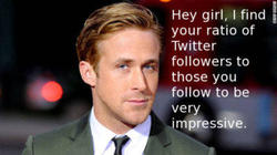 Ryan Gosling Twitter followers